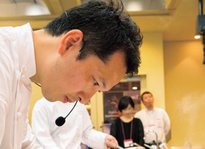 ピエール・ガニェール 赤坂洋介さん